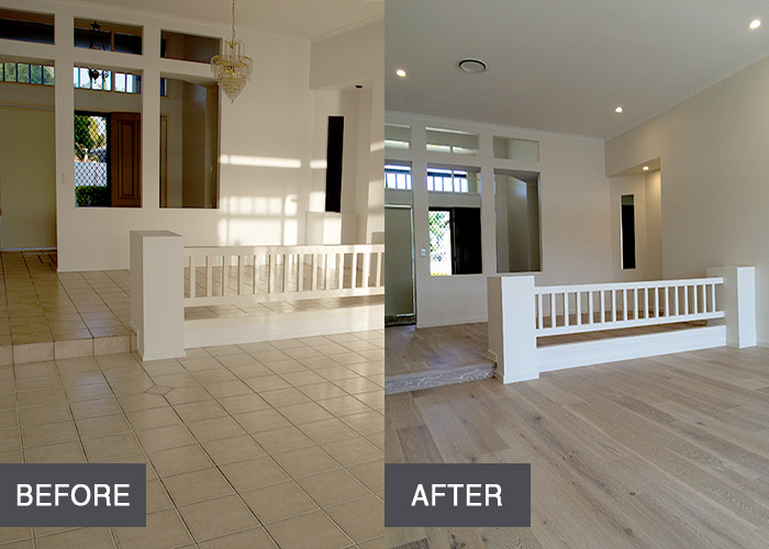 Lounge Before & After